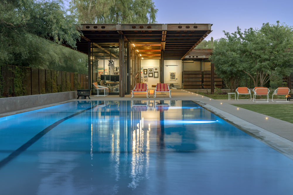 AZ Courtyard House Pool