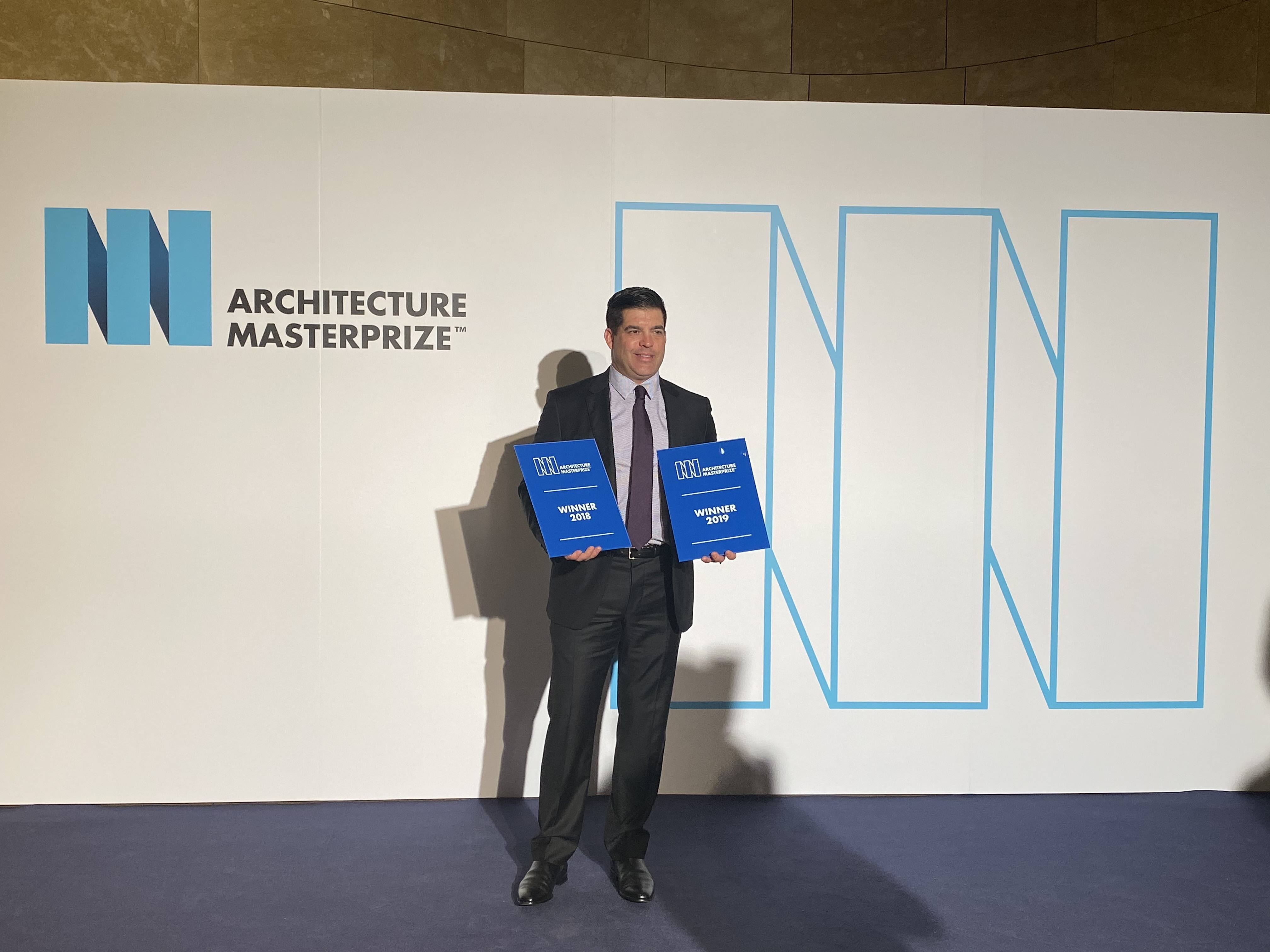 David Hovey Jr., AIA winning award