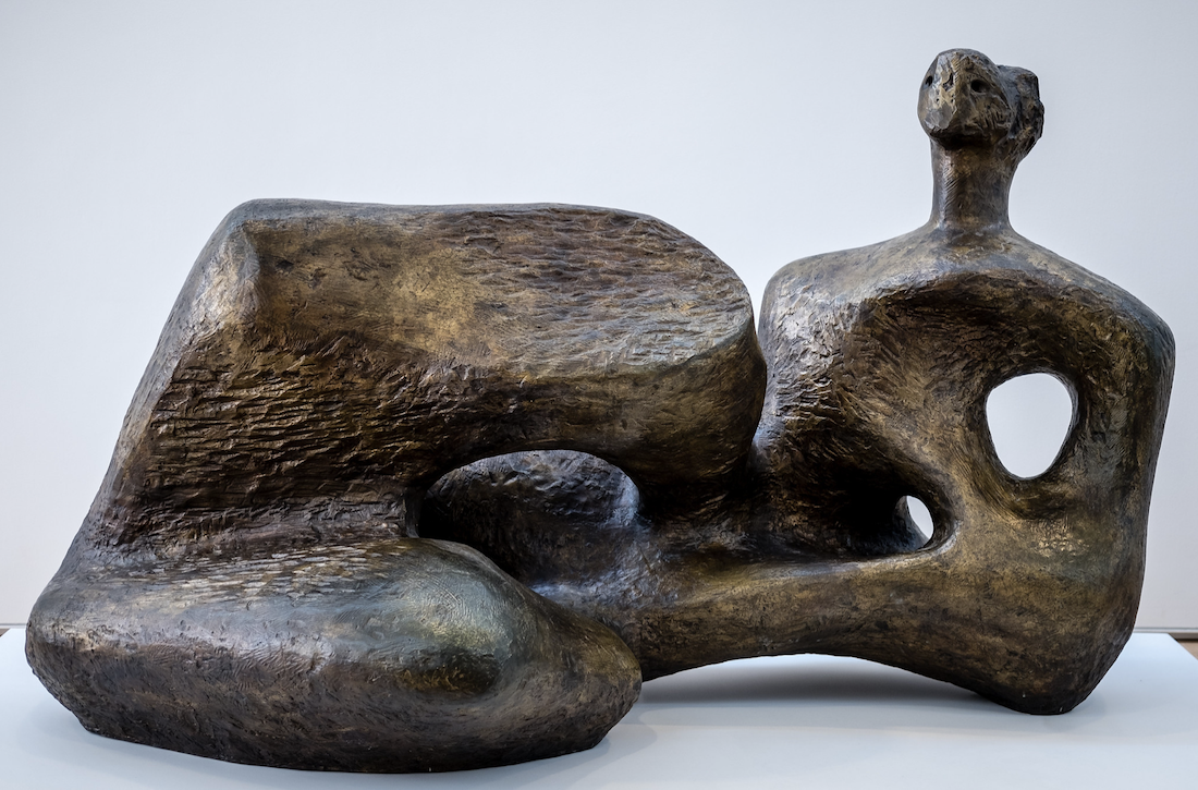 Henry Moore, Maquette for UNESCO Reclining Figure, 1957
