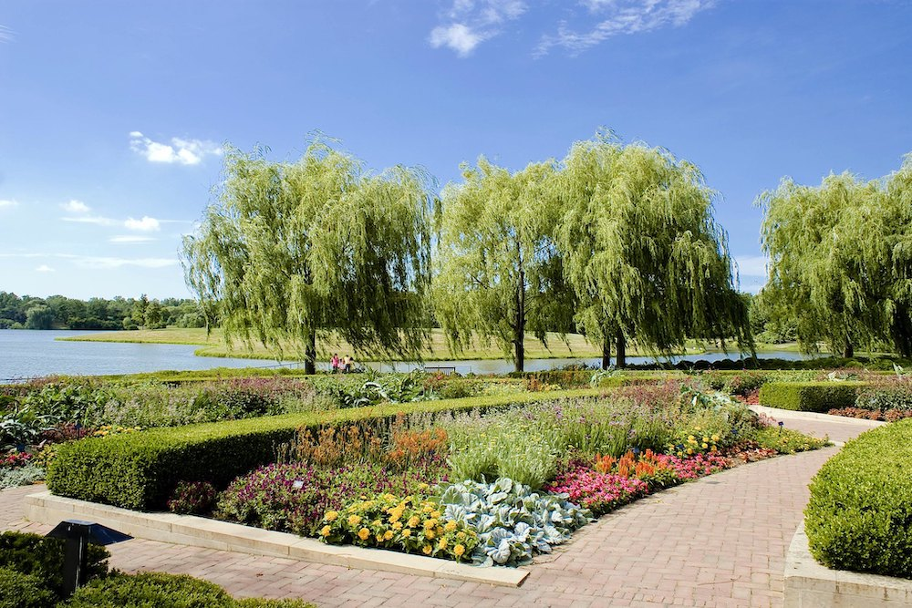 Gardens at the Chicago Botanic Garden