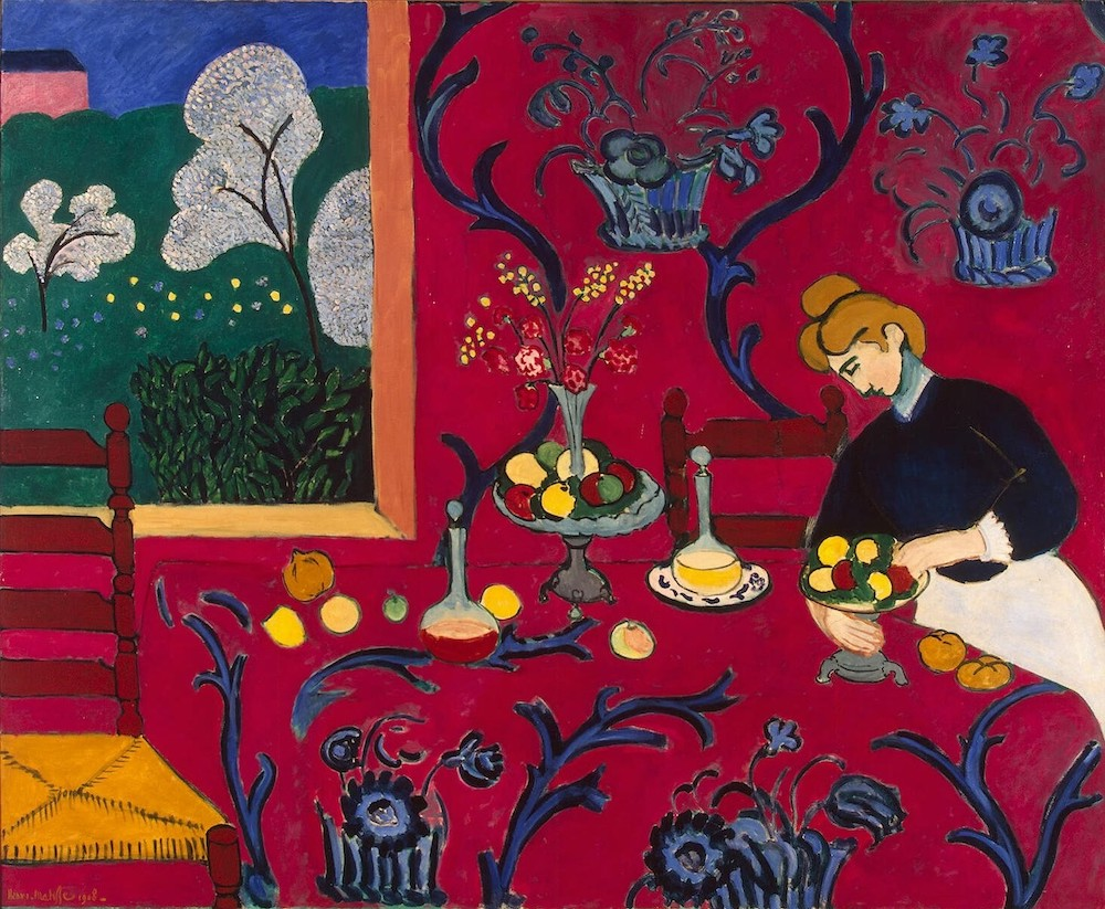 The Red Room (1908), Henri Matisse.