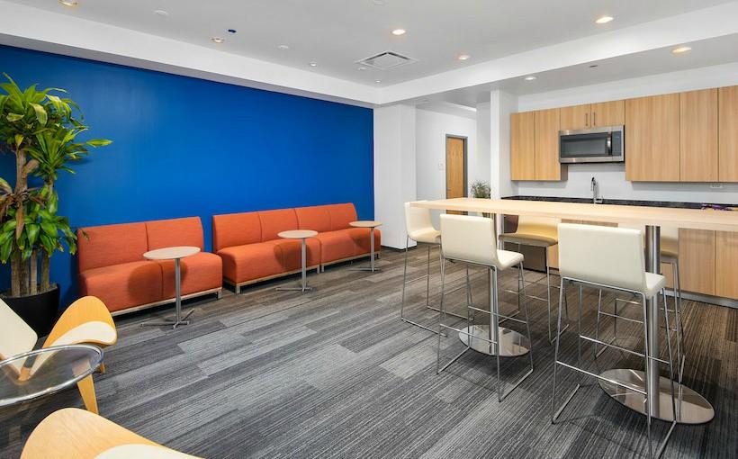 Optima Signature business suites shared kitchen