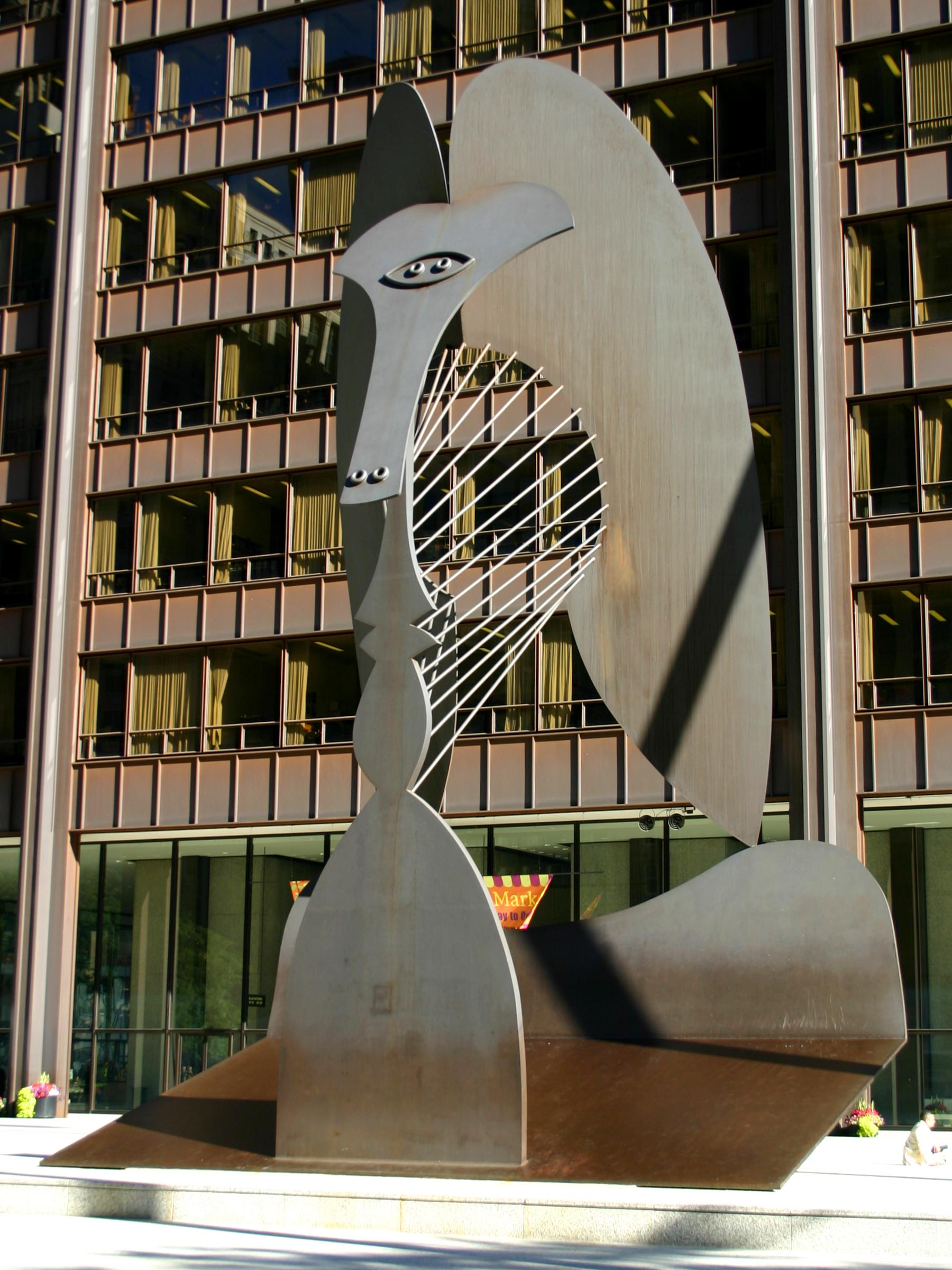Chicago Picasso, located in Daley Plaza