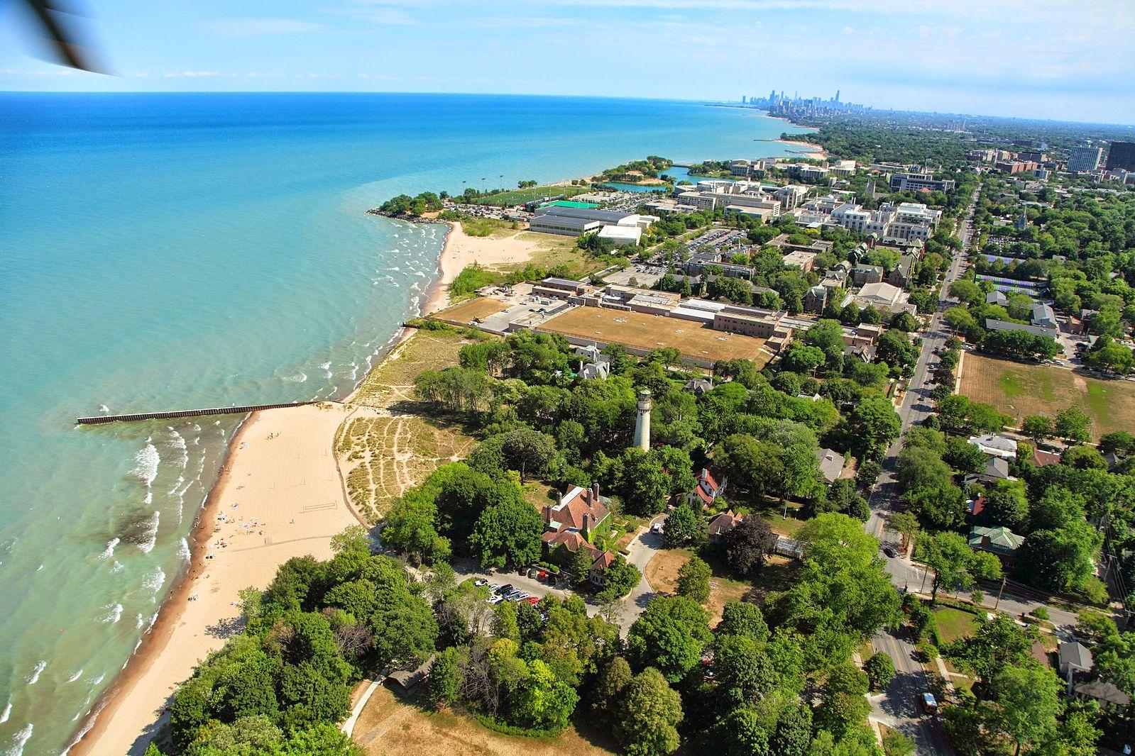 Evanston lakefront