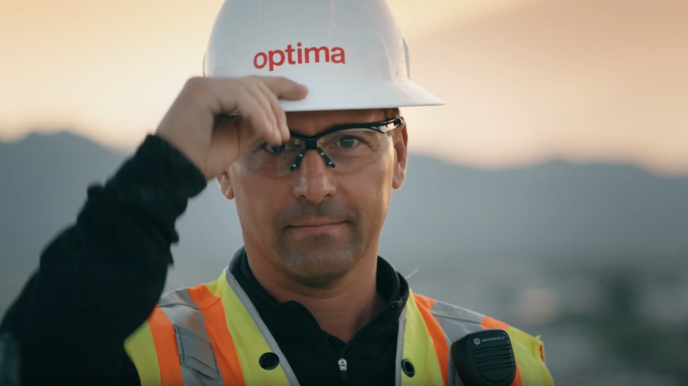 l Schneider, Optima Senior Vice President of Construction