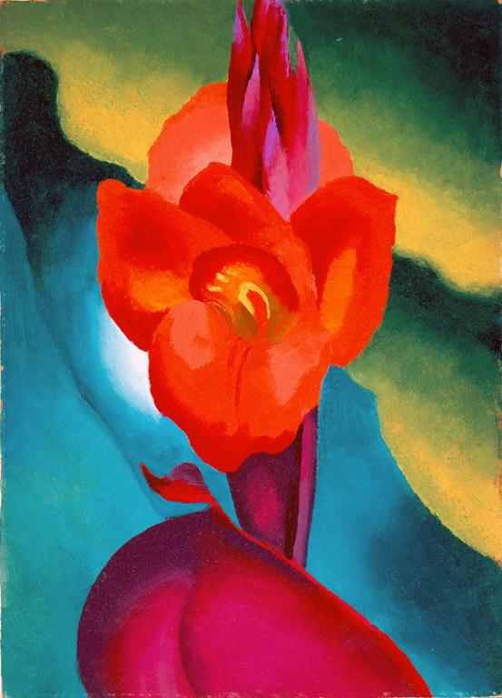 Georgia O'Keeffe, Red Canna, 1919