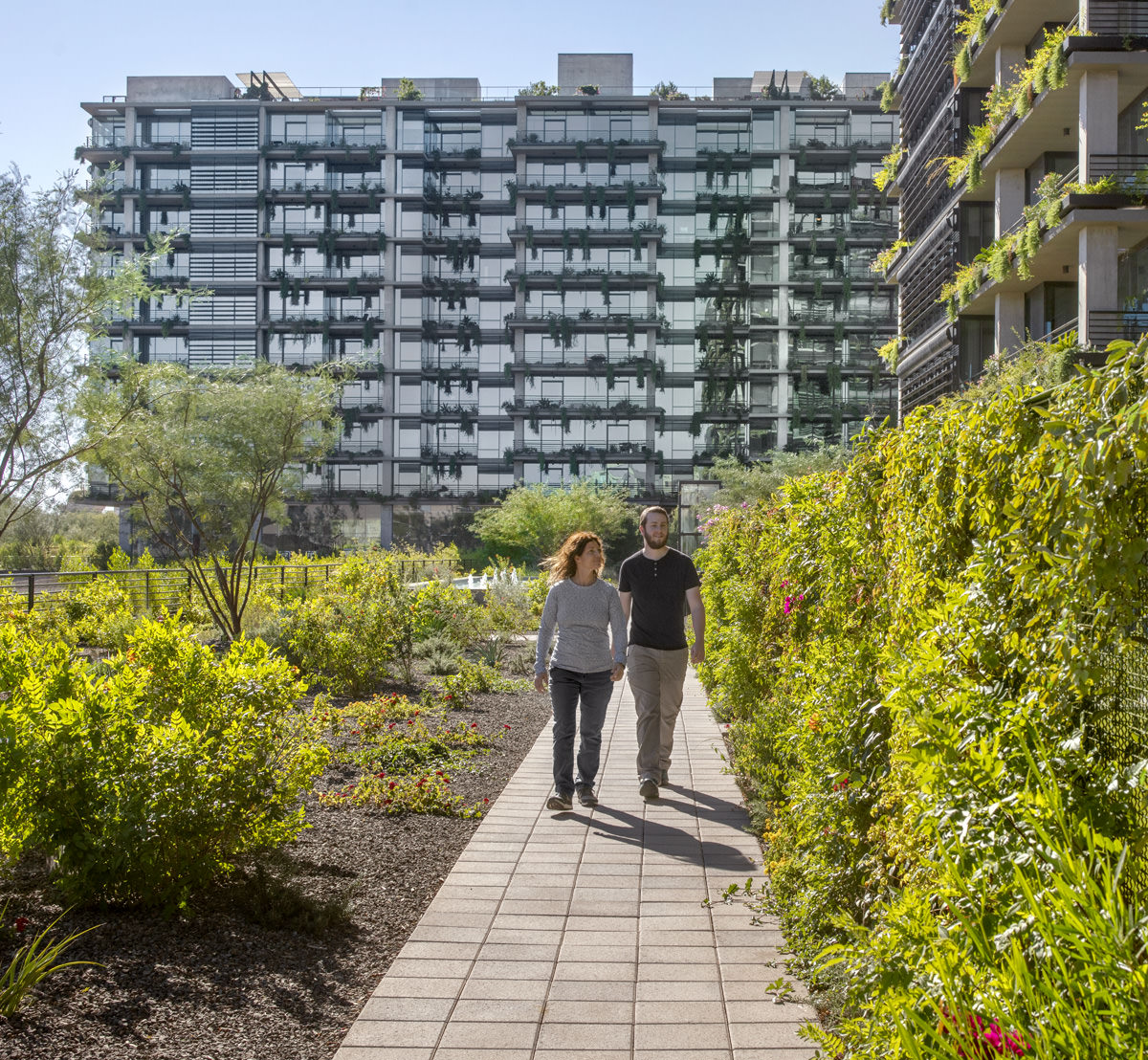 Green space at Optima Kierland