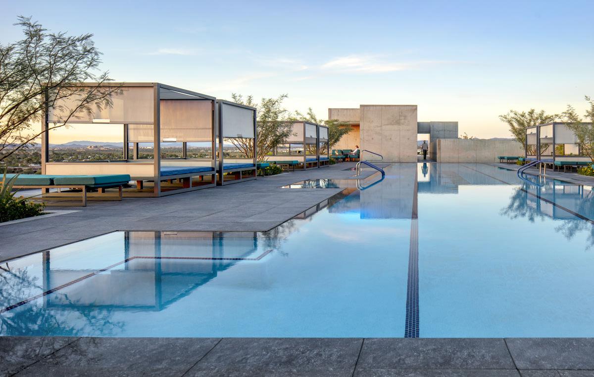 The Sky Deck and pool at 7120 Optima Kierland