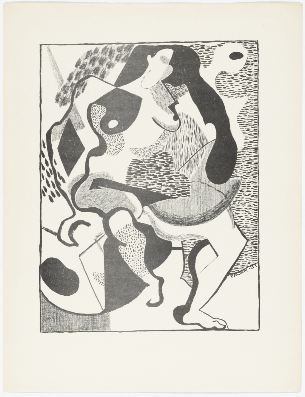 Ray Eames, Untitled from American Abstract Artists, photo courtesy of the Museum of Modern Art