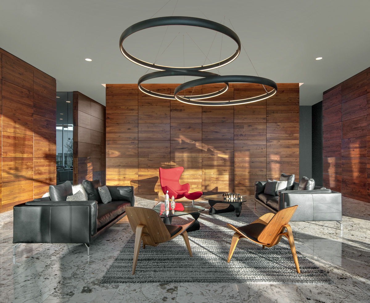 Lobby at 7120 Optima Kierland