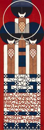 Poster for the 13th Vienna Secession exhibition, designed by Koloman Moser, 1902