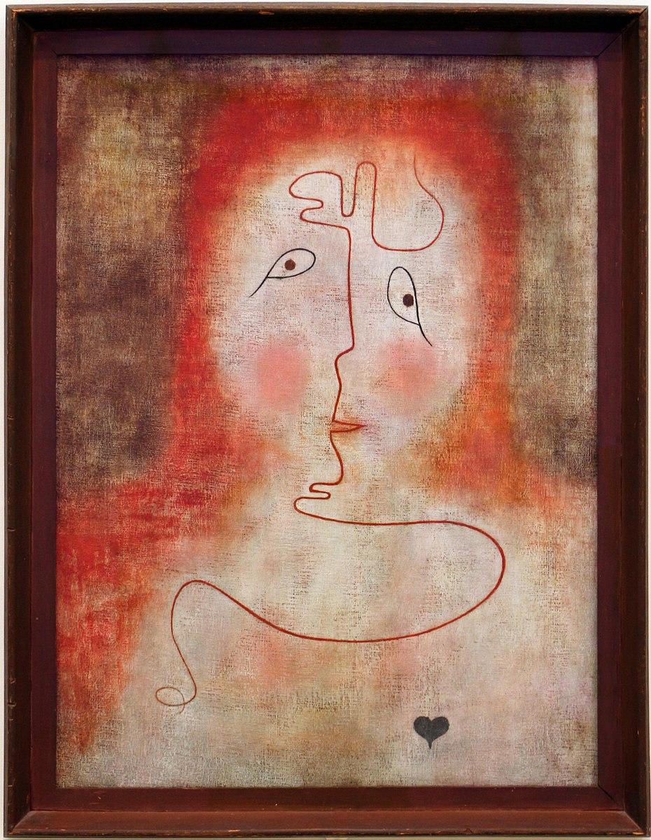 Paul Klee, nello specchio magico, 1934