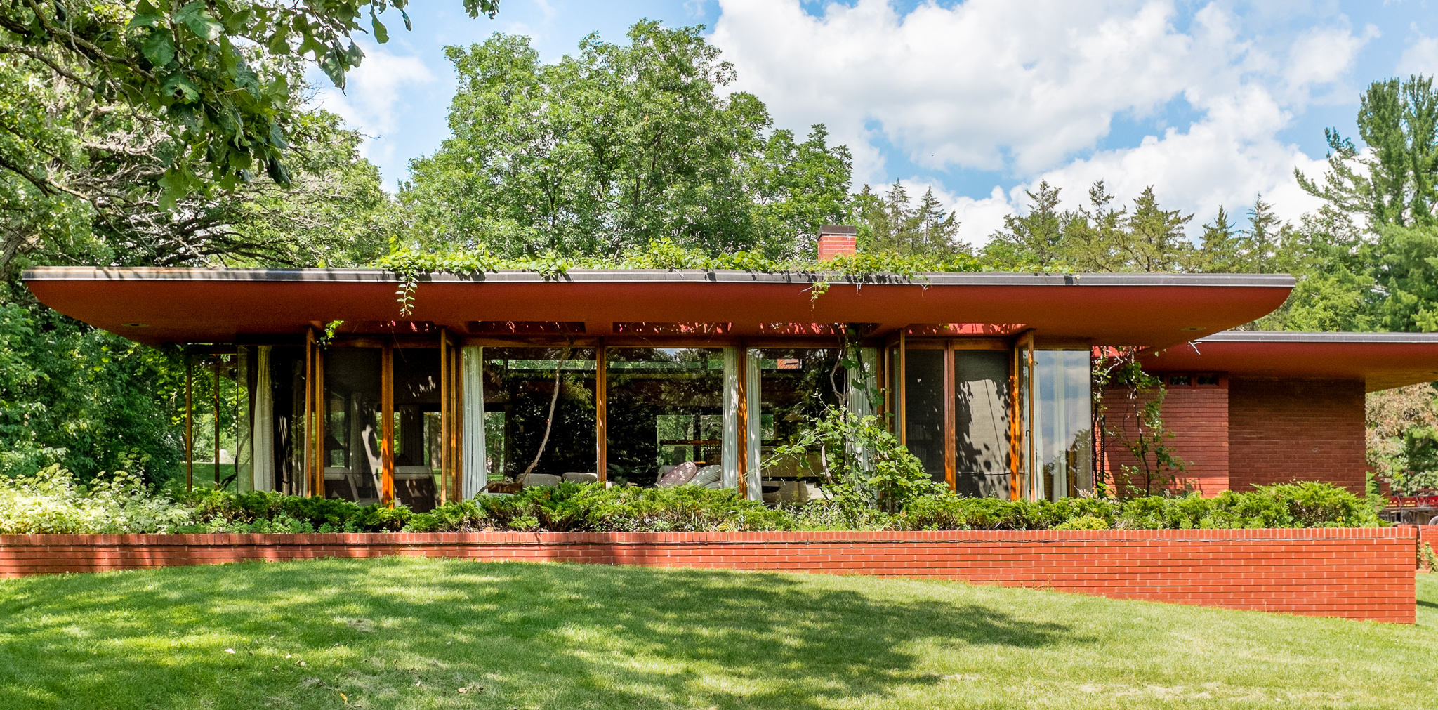 Cedar Rock (Lowell Walter House), 1948, Frank Lloyd Wright — a Usonian house