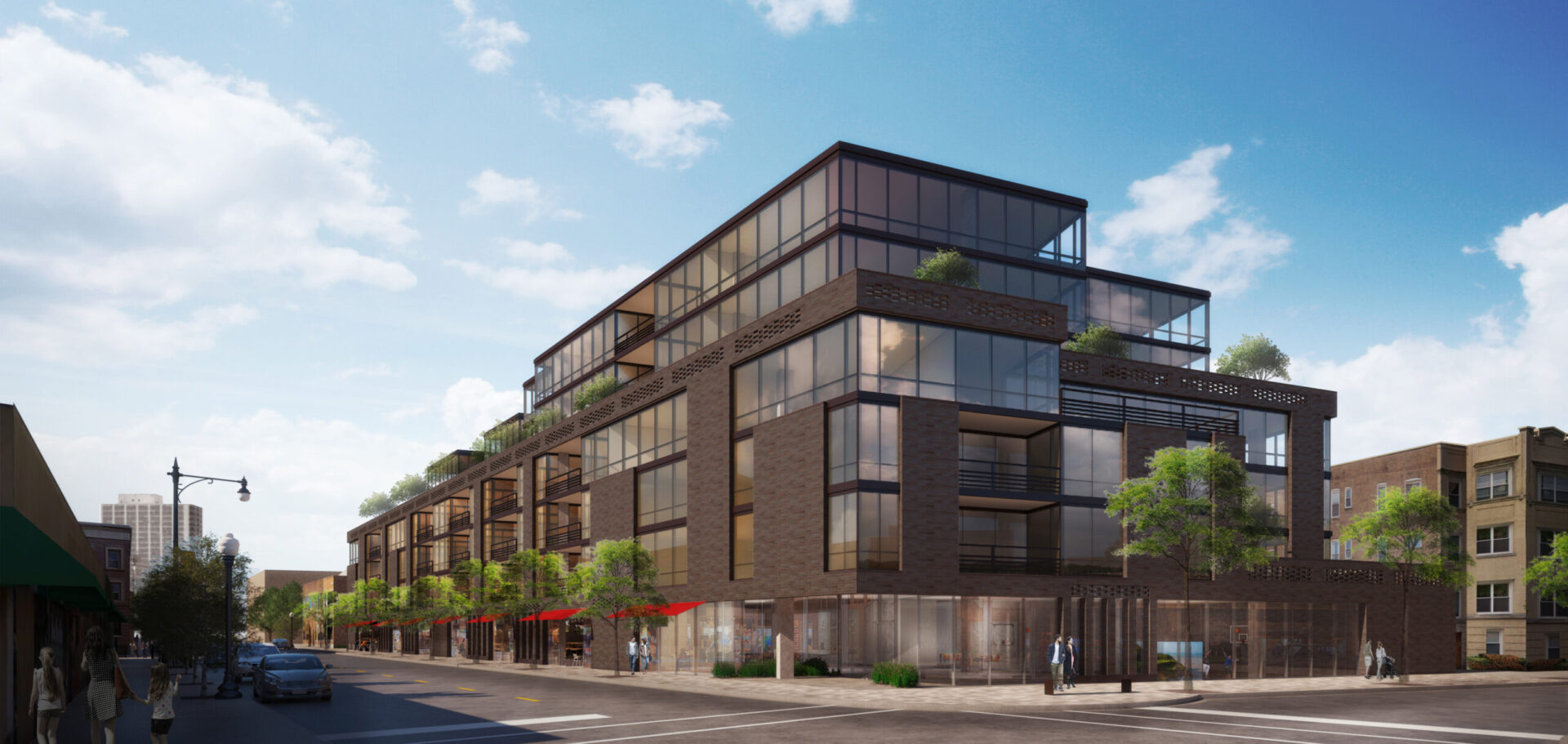 Rendering of Optima Lakeview