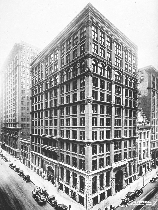 Home Insurance Building, 1884.