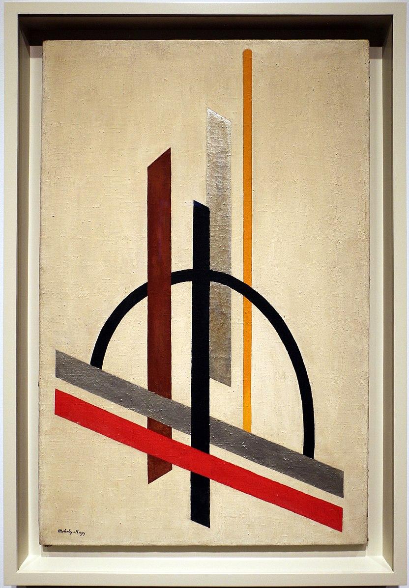 Architecture (Eccentric Construction) (c. 1921), László Moholy-Nagy