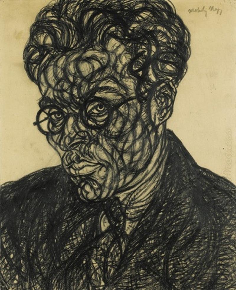 Self Portrait (1918), László Moholy-Nagy