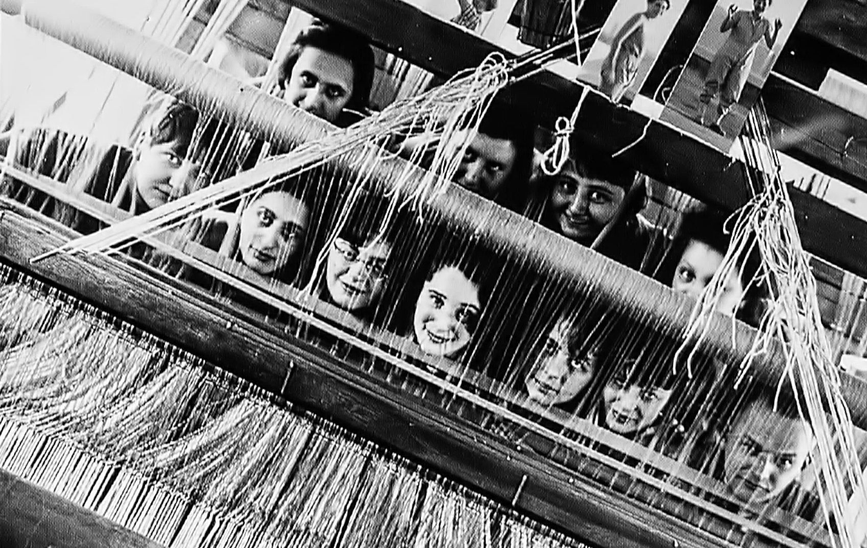 Women weavers at the Bauhaus workshop