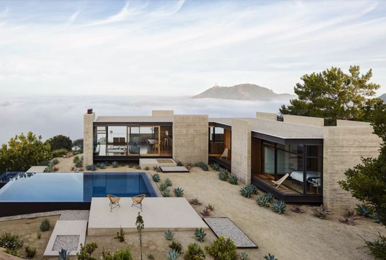 Saddle Peak House in Los Angeles, California; photo courtesy of Welcome Beyond.
