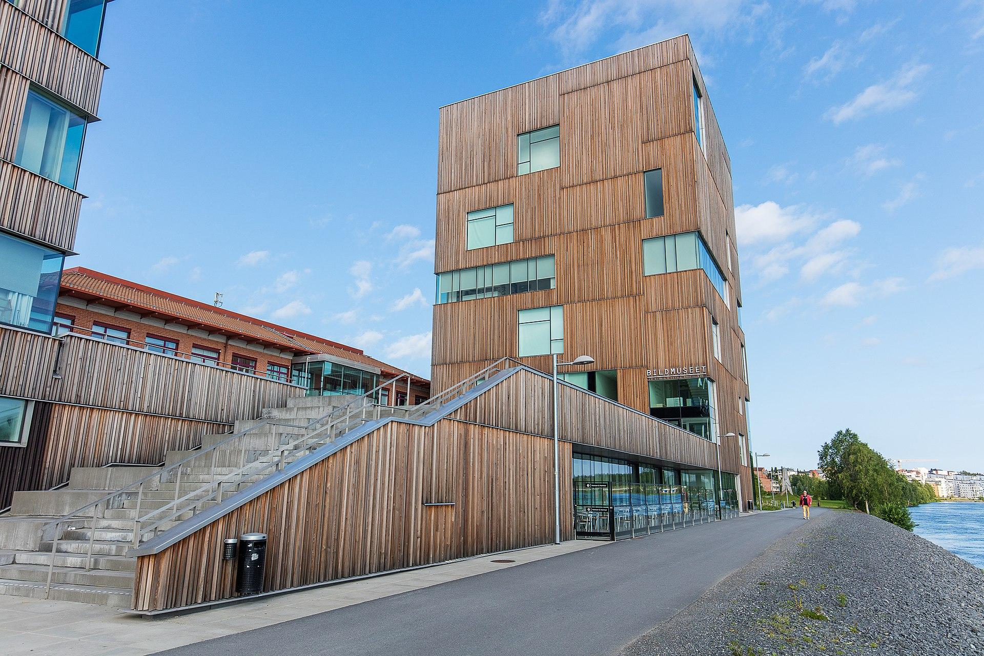 Bilmuseet in Umea, Sweden