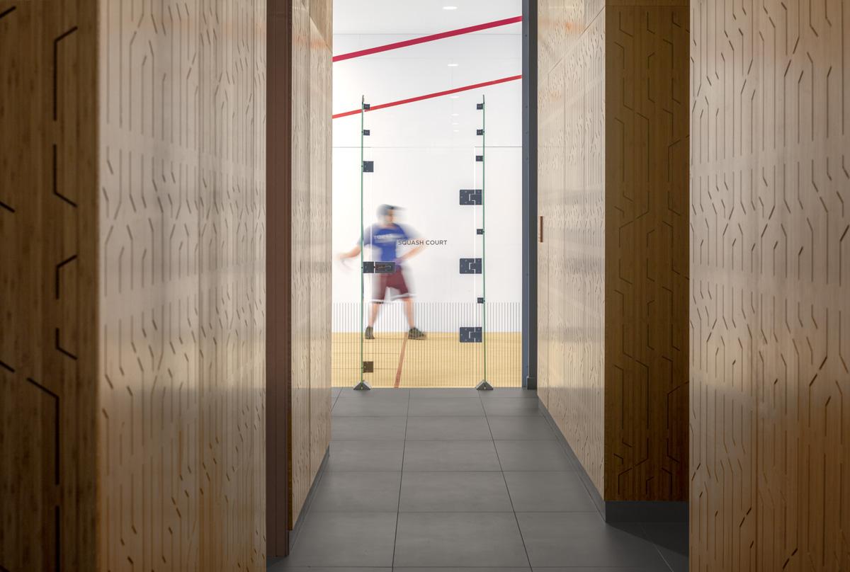 Squash Court at 7120 Optima Kierland