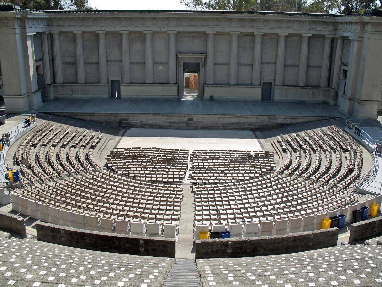 The Hearst Greek Theater at University of California, designed by Julia Morgan (1903)
