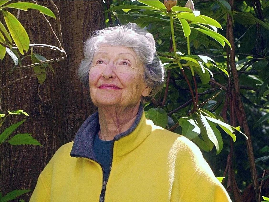 Photo of Cornelia Oberlander by Ward Perrin / Vancouver Sun