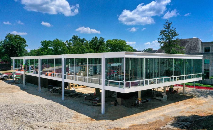 Photo of new Eskenazi School of Art, Architecture + Design at Indiana University